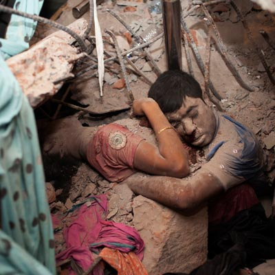 Rana Plaza building collapsed killing textile workers