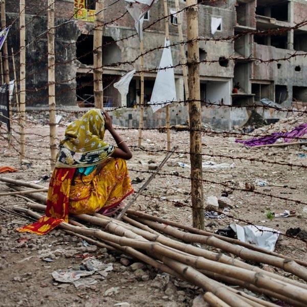 Disastro di Rana Plaza aprile 2013 Bangladesh Dhaka