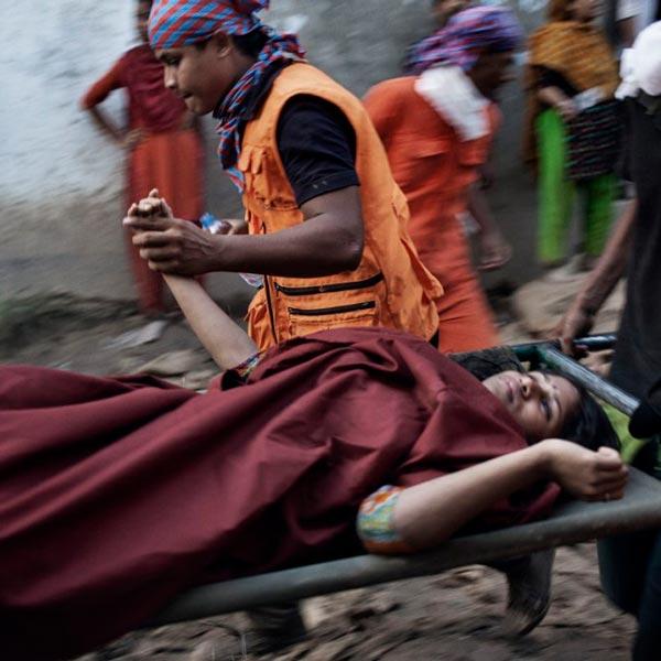 Incidente di Rana Plaza lavoratori di abbigliamento feriti
