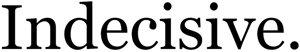 Indecisive logo
