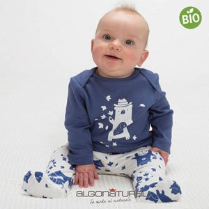 Moda sostenibile bambini Algonatural