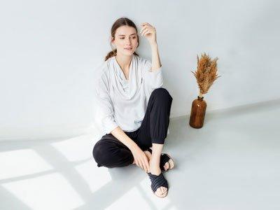 Abbigliamento sostenibile Londra Thought Clothing