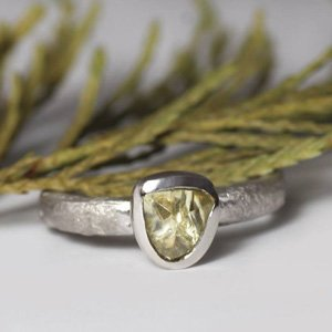 ethical fair ring Zoe Pook
