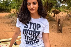 Stop ivory trade now t-shirt Rapanui