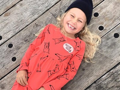 sustainable kids fashion brand Sacred Ibis