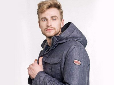 giacca sostenibile uomo Quagga