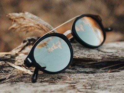 brand occhiali sostenibili Proof