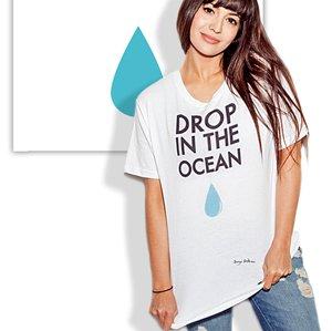 t-shirt sostenibile JustFor
