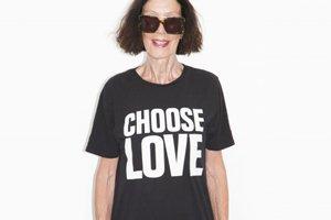 Choose love t-shirt organica Rapanui