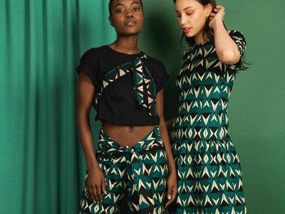sustainable fashion London Mayamiko