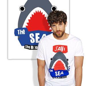 maglia Save the Sea organica JustFor
