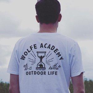 abbigliamento eco uomo Wolfe Academy UK