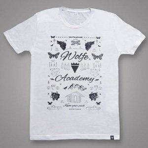 t-shirt organica Wolfe Academy
