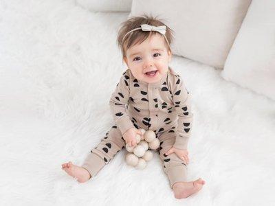 abbigliamento organico bambina Colored Organics