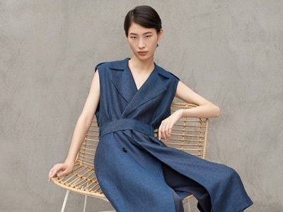 eco fashion label ICICLE China