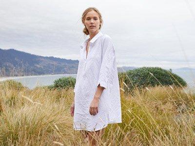 brand vestiti organici Coyuchi USA