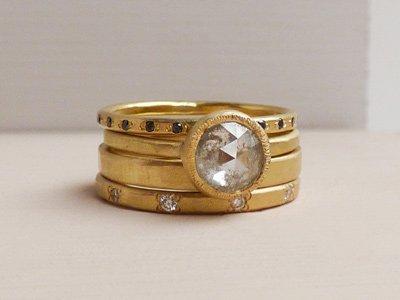 anelli oro etico Shakti Ellenwood