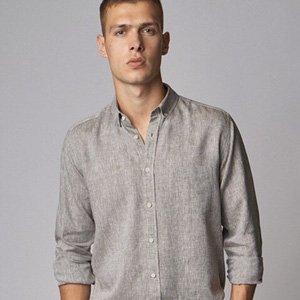 camicia lino uomo CARPASUS