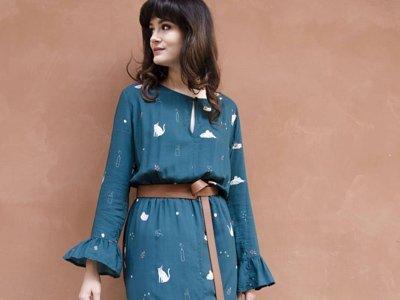 moda eco Italia Cobalto