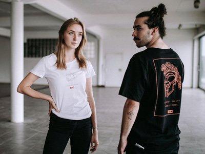 sustainable fashion label Degree Clothing