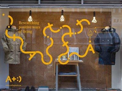 negozio moda sostenibile adisgladis Stoccolma