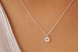 regali san valentino sostenibili donna collana argento riciclato