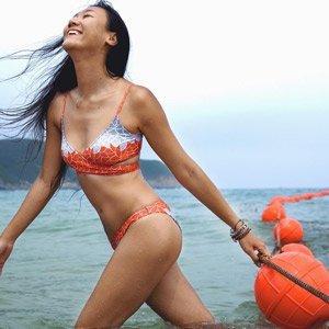 recycled bikini Loop swim Shanghai