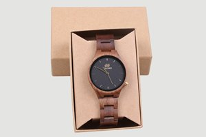 orologio uomo in legno Clockwood