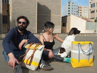 zaini e borse sostenibili 3quarters Grecia