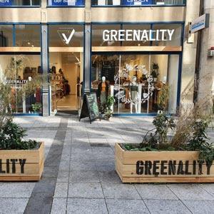 negozio moda eco Germania Greenality