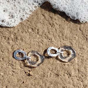 gioielli sostenibili vetro riciclato CLED