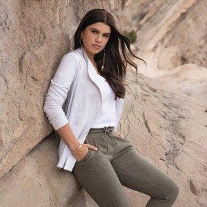 abbigliamento sostenibile donna Synergy Organic Clothing CA
