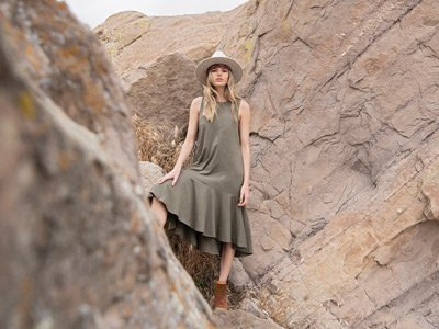 vestiti sostenibili Synergy Organic Clothing