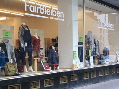 eco fashion store Germany FairBleiben