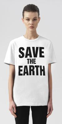 Guardaroba sostenibile per salvare il pianeta Katharine Hamnett