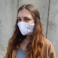 mascherina ecosostenibile Kluntje