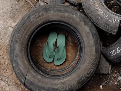 eco flip flops indosole Bali