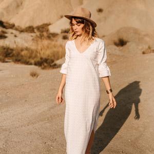 sustainable dress VANESA VINHAS London