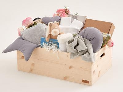 scatola regalo ecologica bimbo Tilla Baby Box