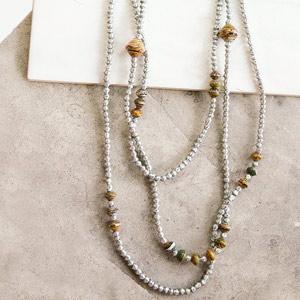 sustainable necklace Tuli