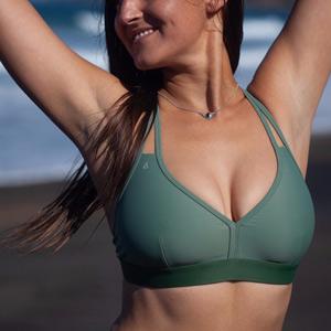 eco bikini top inaska