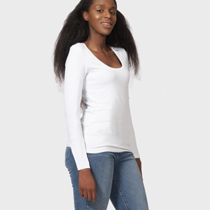 abbigliamento sostenibile donna The White T-Shirt Co