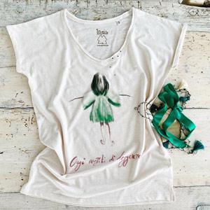moda eco La mia maglietta