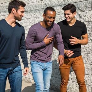 vestiti organici uomo The Classic Tshirt Company
