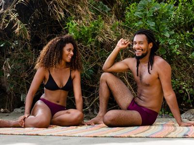 sustainable lingerie Saint Basics