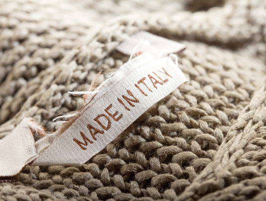 Made in Italy sustainable fashion article