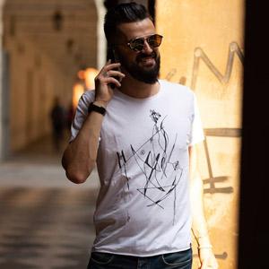 t-shirt ecologica Drapenn