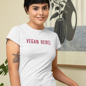 t-shirt uomo vegan Bveganly