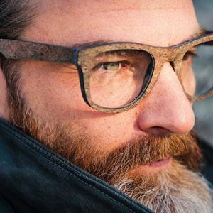 occhiali ecologici Reborn Ideas