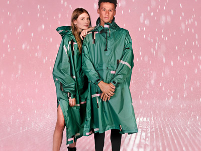 recycled ponchos Rainkiss